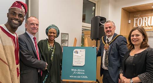 Nigerian Delegation visit University