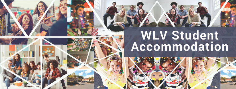 WLV Student accommodation banner