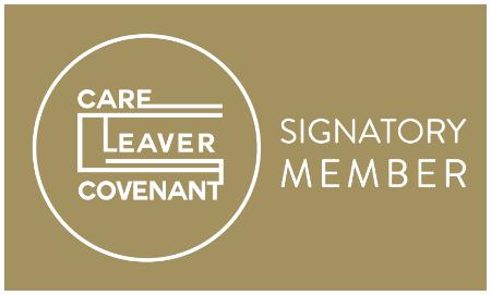 image of Care Leaver Covenant Gold logo