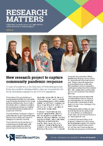 Research Matters Issue 11 Image