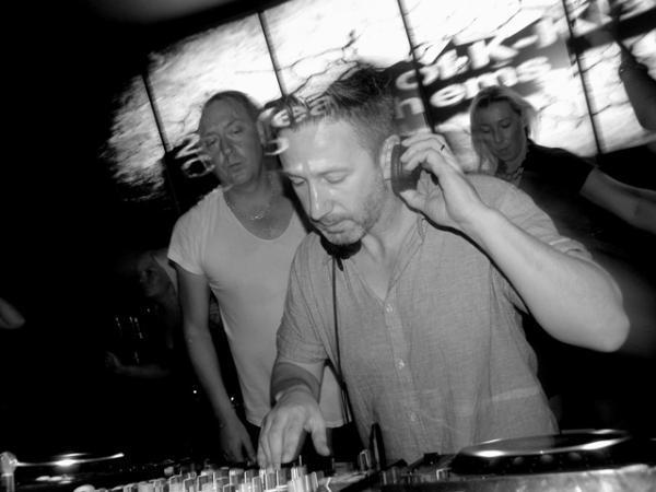 DJ booth with K-Klass