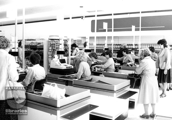An image from G T Smith Supermarket from the 1980s